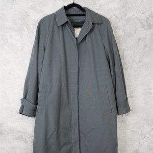 Dusty Blue London Towne Trench Coat